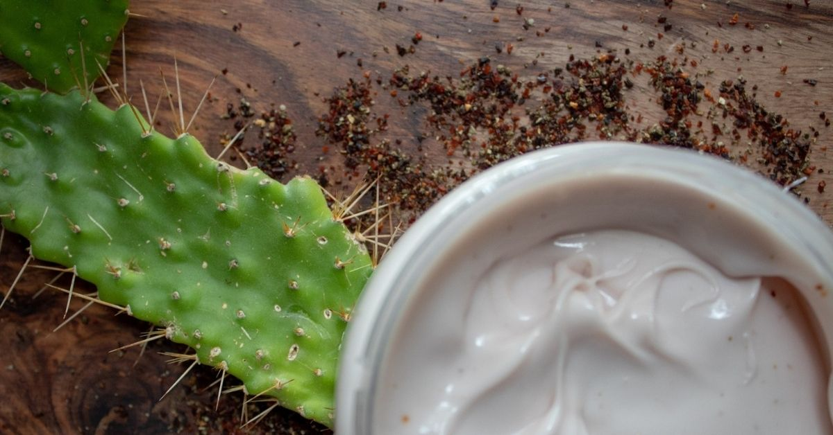 Prickly Pear with Cactus Crush